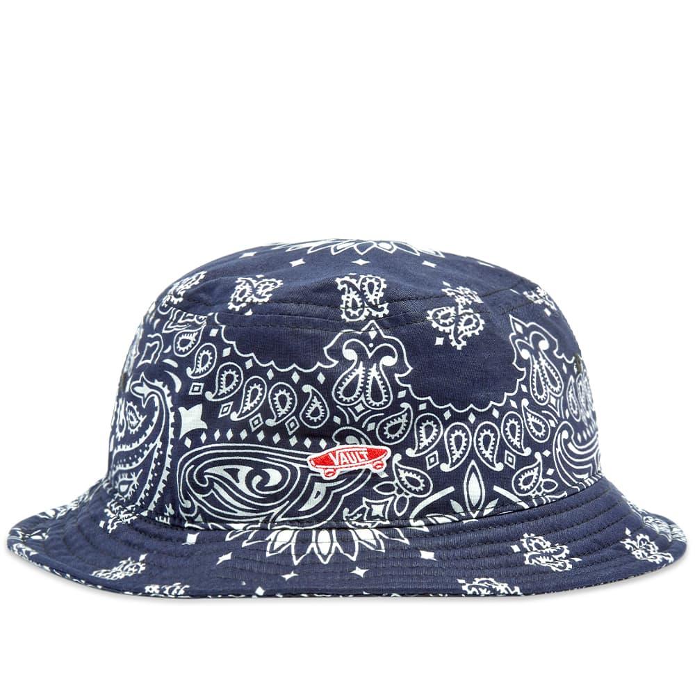 Vans Vault  x Bedwin And The Heartbreakers Bandana Bucket Hat - Blue