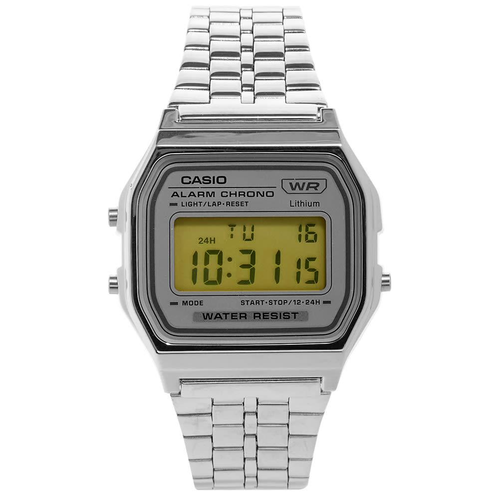Casio Classic Digital Watch - Silver