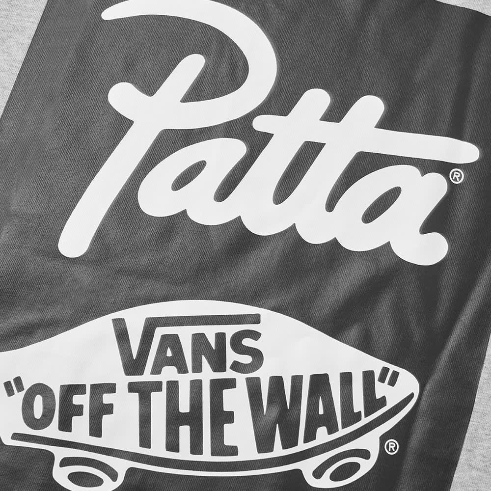 Vans Vault x Patta Logo Tee - Athletic Heather