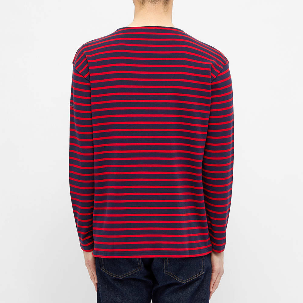 Armor-Lux Long Sleeve Loctudy Tee - Navy & Red
