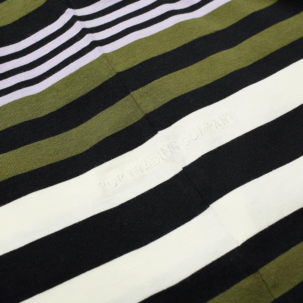 POP Trading Company Striped Pocket Tee - Multicolour