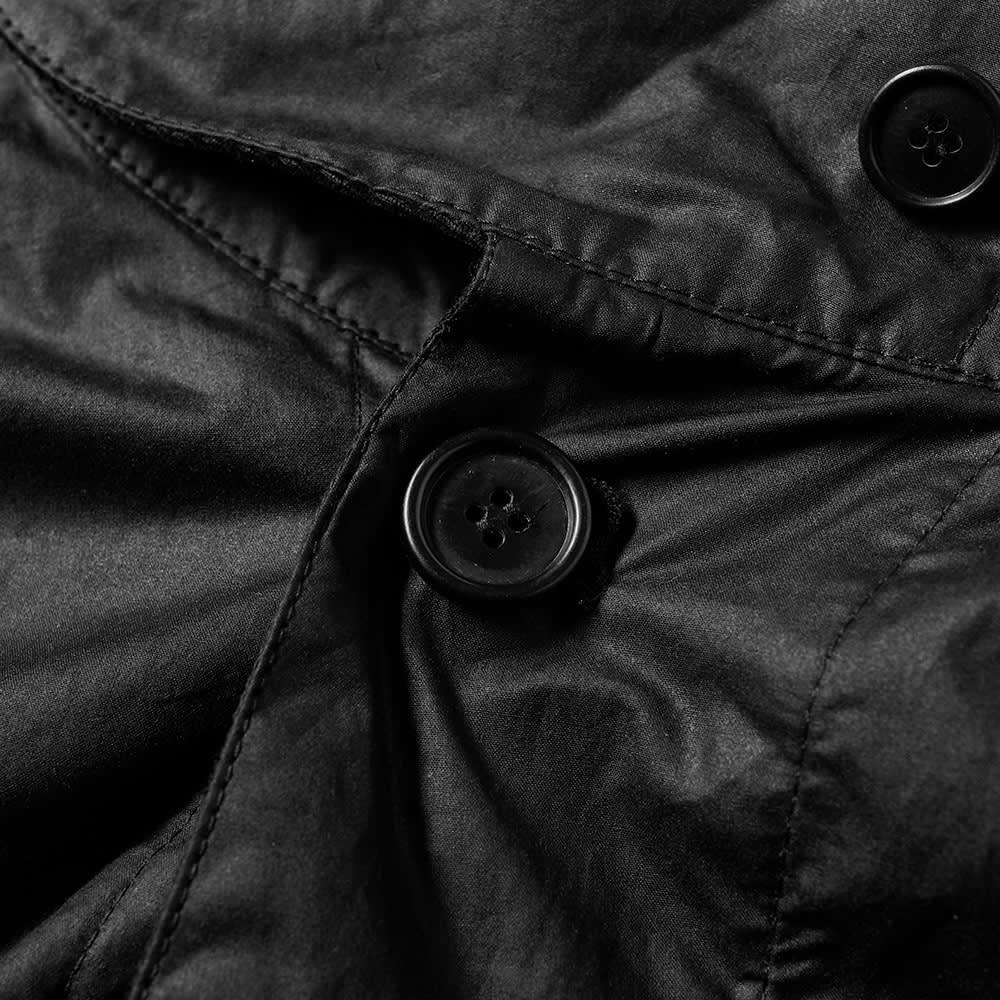 Barbour x Engineered Garments Wax Cape - Black