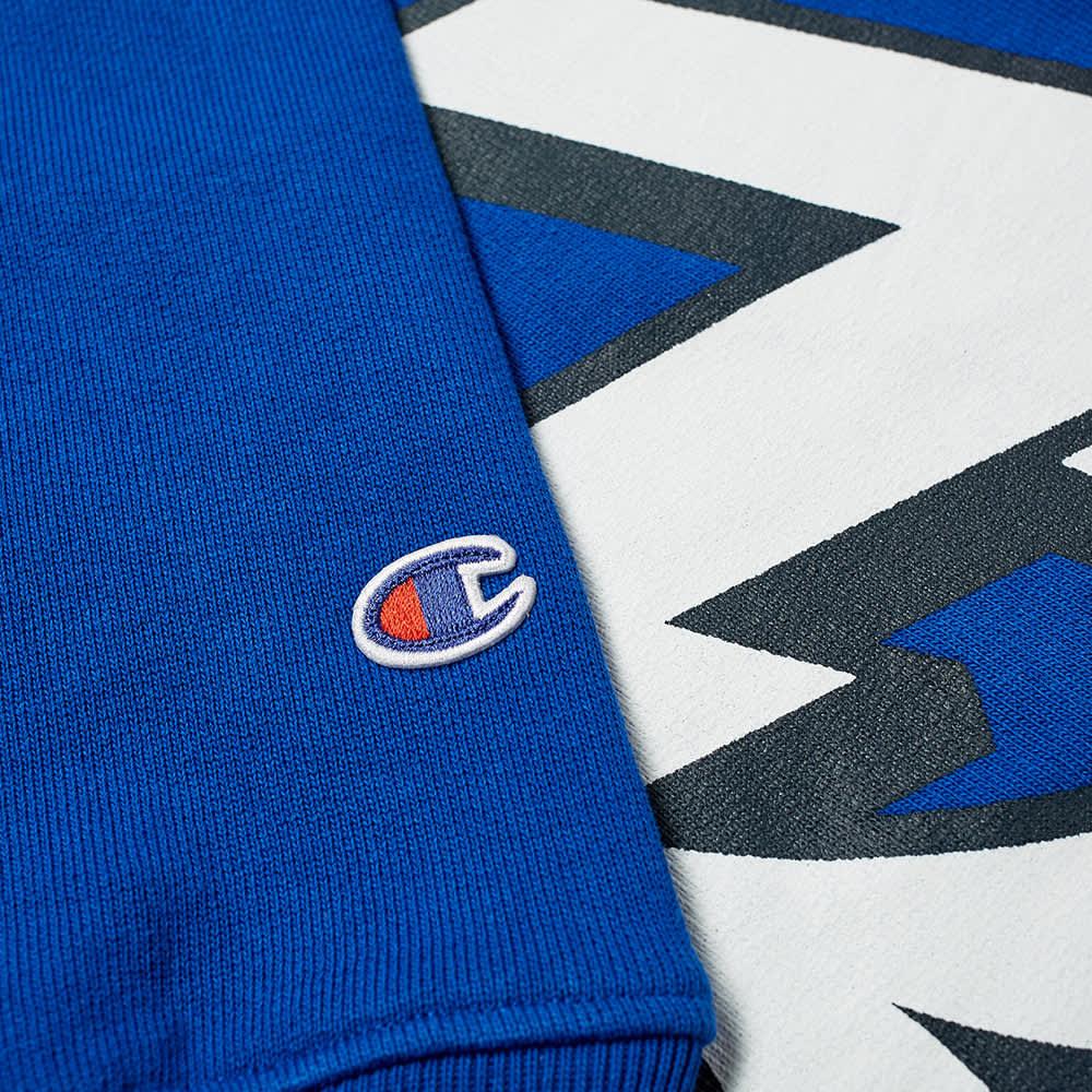 Champion x Beams Popover Hoody - Blue