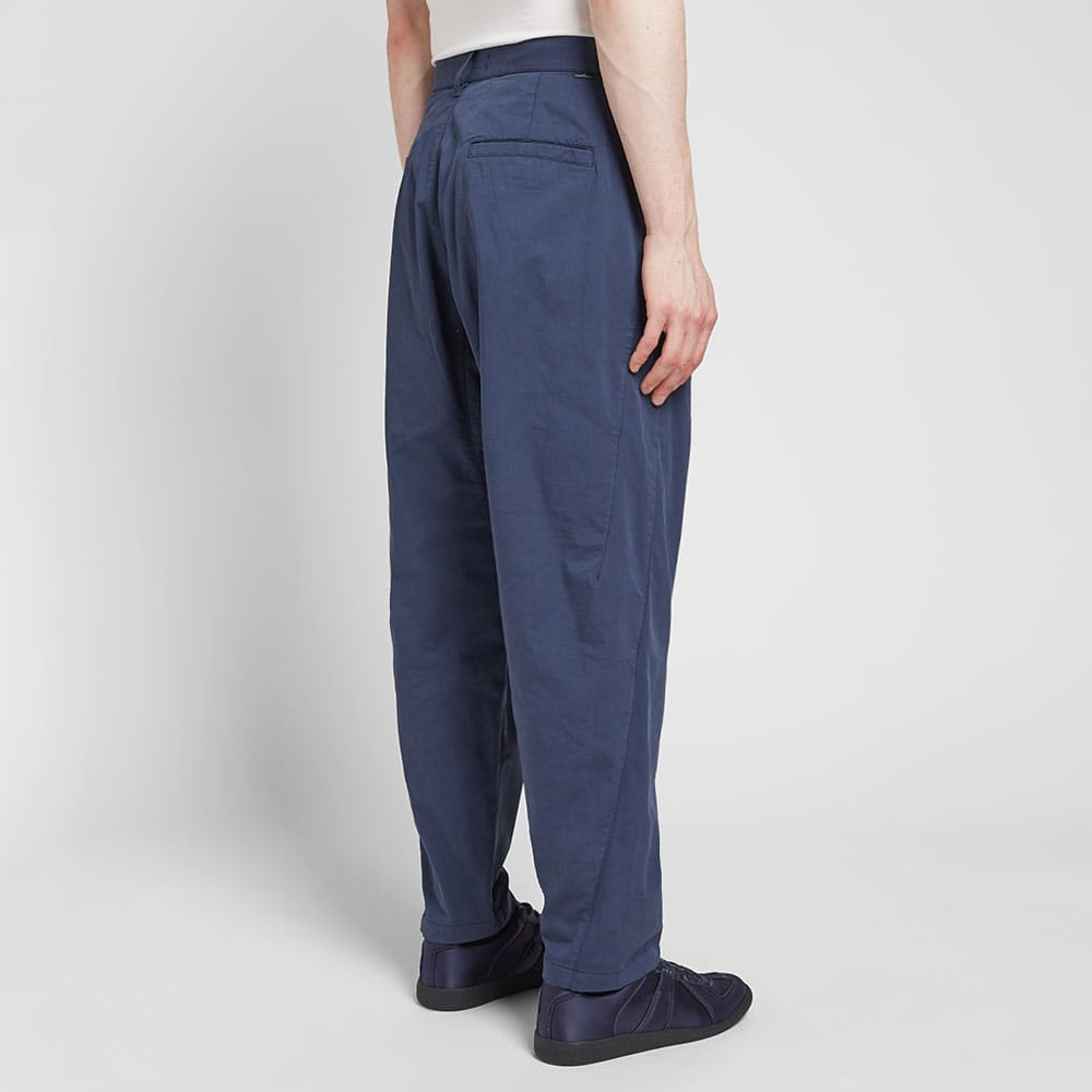 Stone Island Shadow Project Enzyme Treated Cargo Pant - Navy
