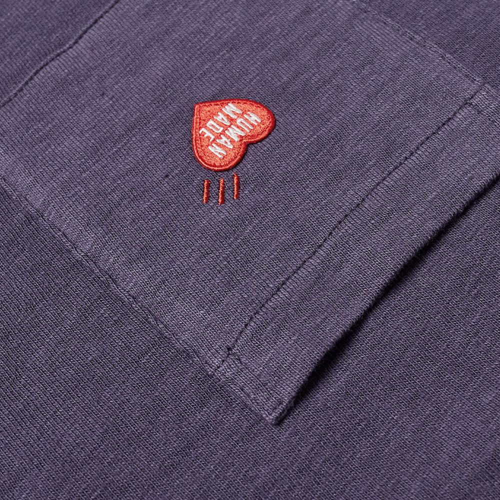 Human Made Heart Pocket Tee - Navy