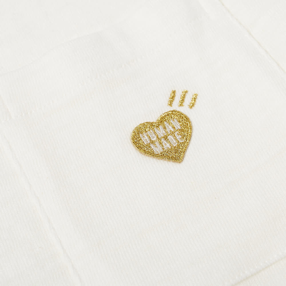 Human Made One Point Pocket Tee - White