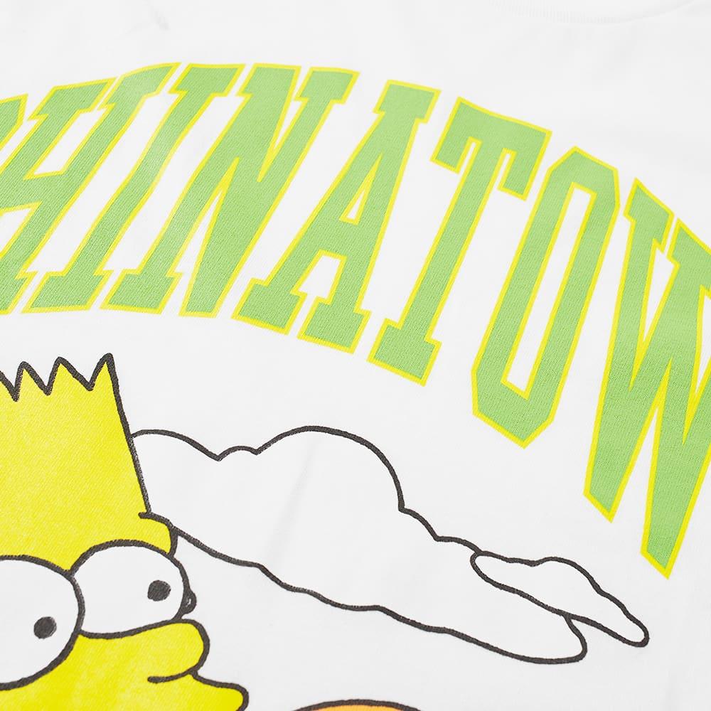 Chinatown Market x The Simpsons Cowabunga Arc Tee - White