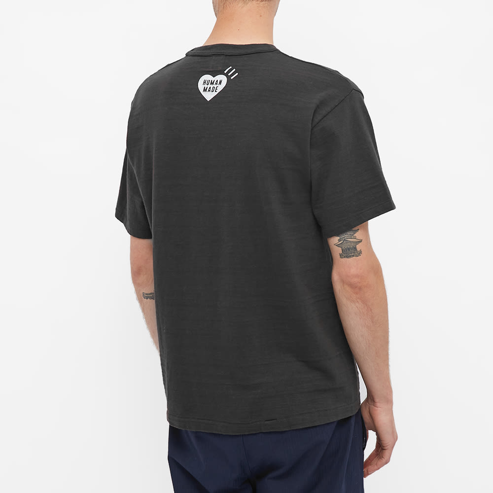 Human Made Curry Up Time To Eat Tee - Black
