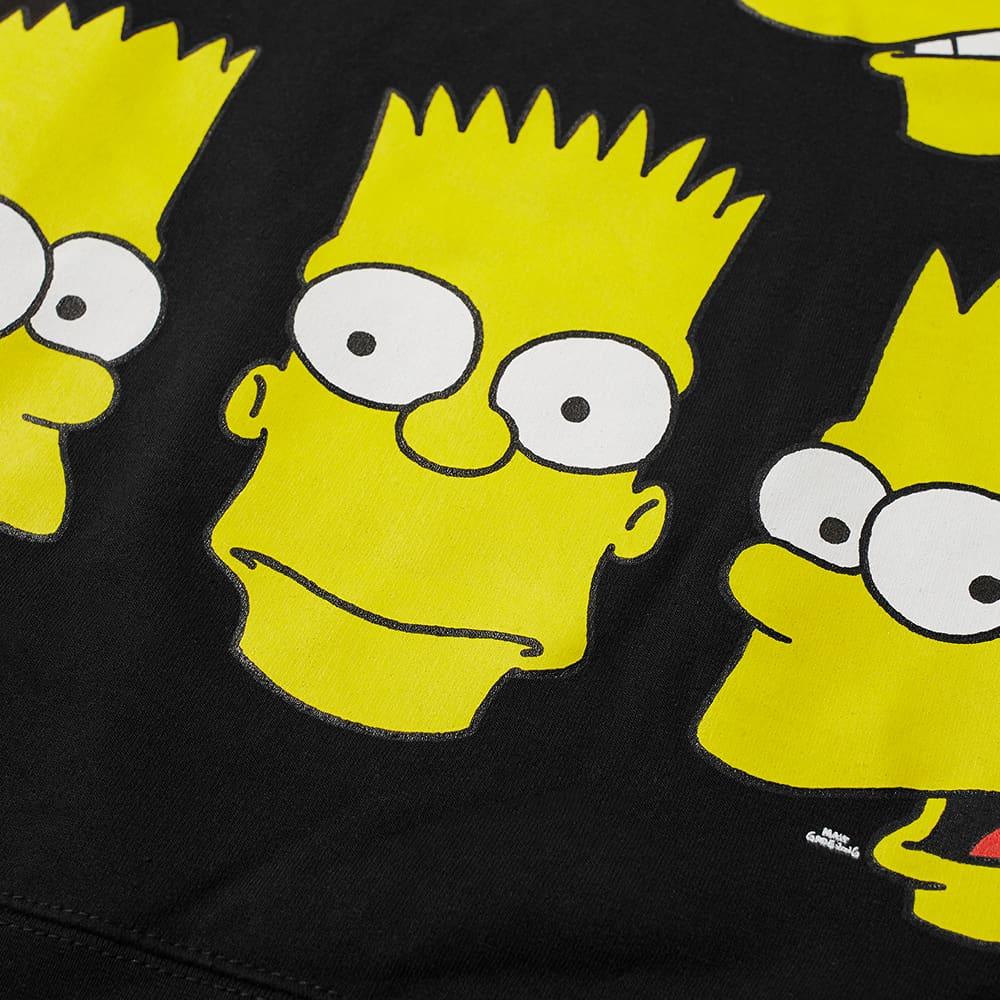 Chinatown Market x The Simpsons Classic Bart Crew Sweat - Black