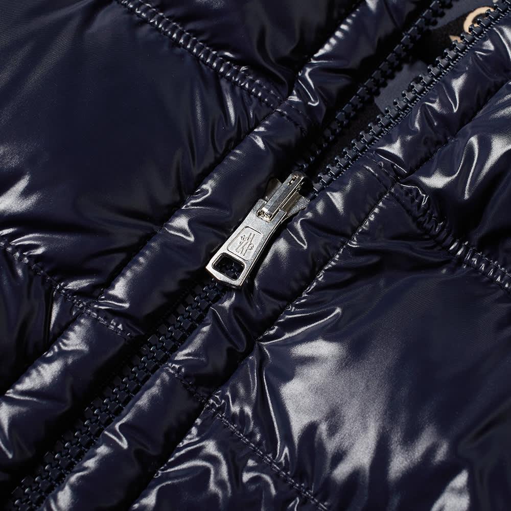Moncler Freville Reversible Bandana Down Jacket - Navy