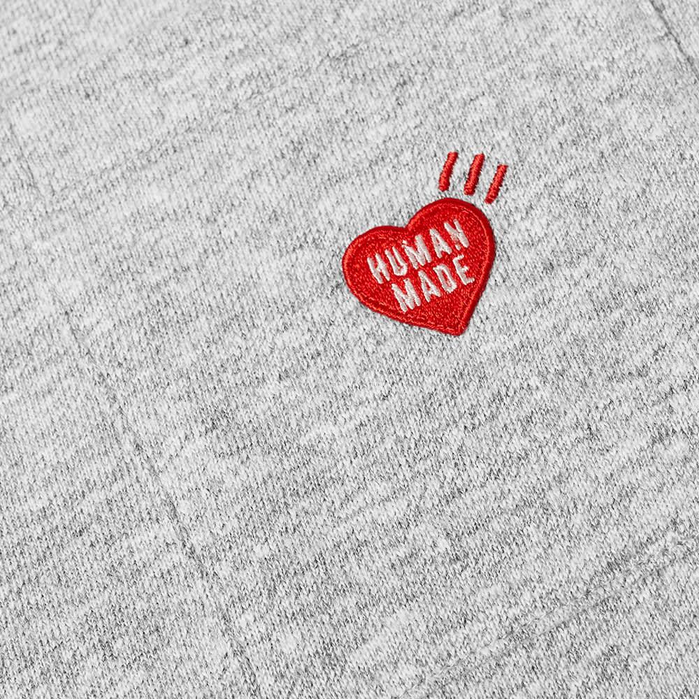 Human Made Heart Pocket Tee - Grey
