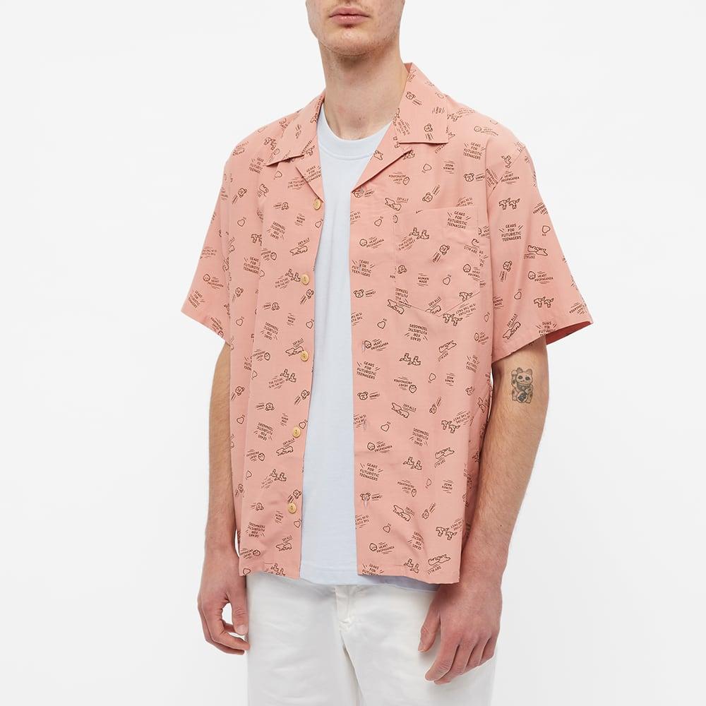 Human Made Animal Logo Vacation Shirt - Pink
