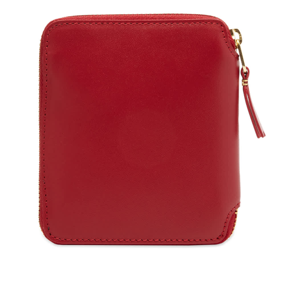 Comme des Garcons SA2100 Classic Wallet - Red