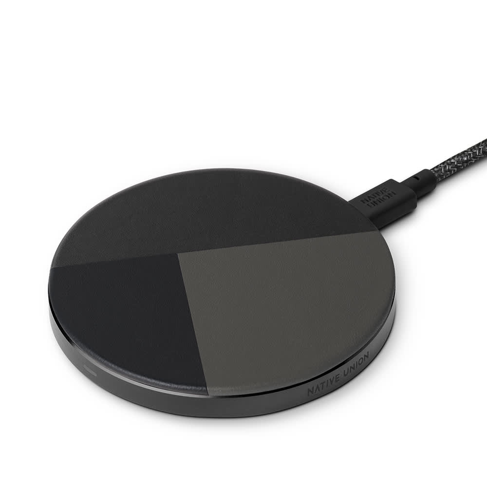 Native Union Drop Marquetry Wireless Charger - Slate