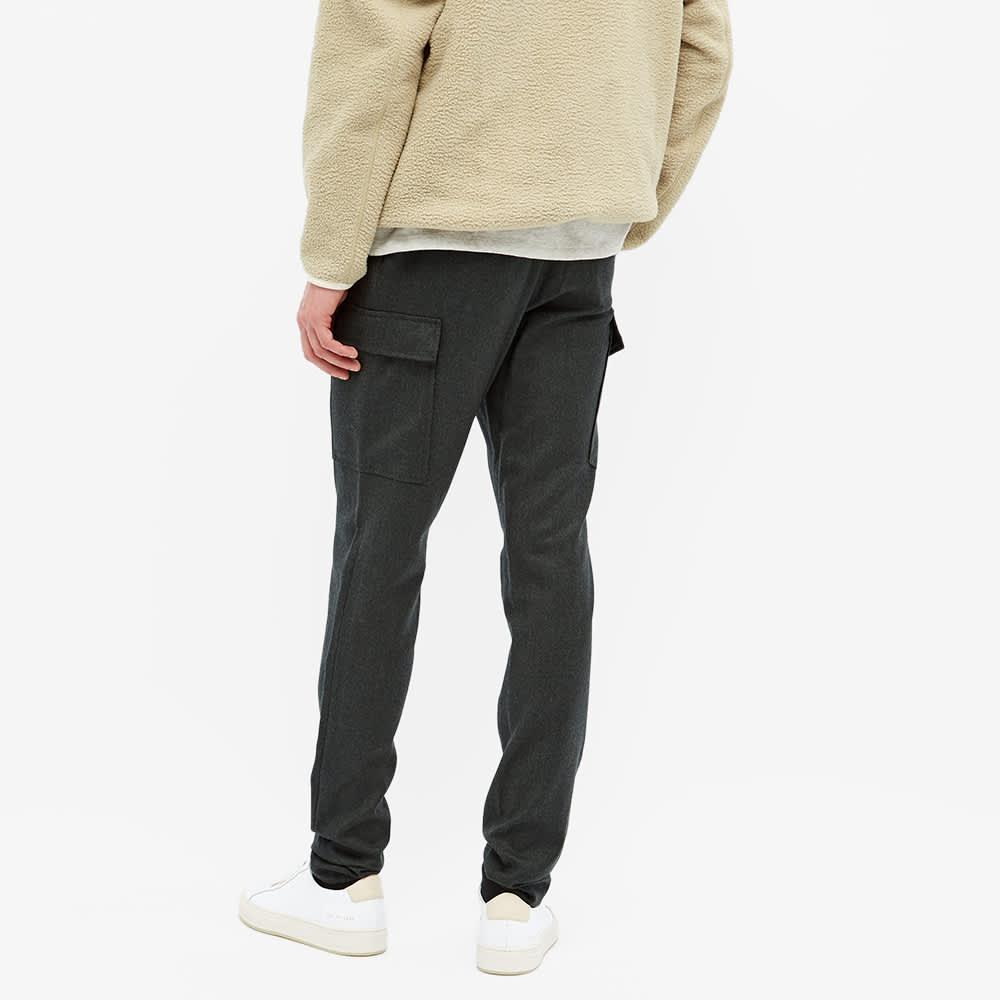Incotex Wool Cargo Pant - Army Green