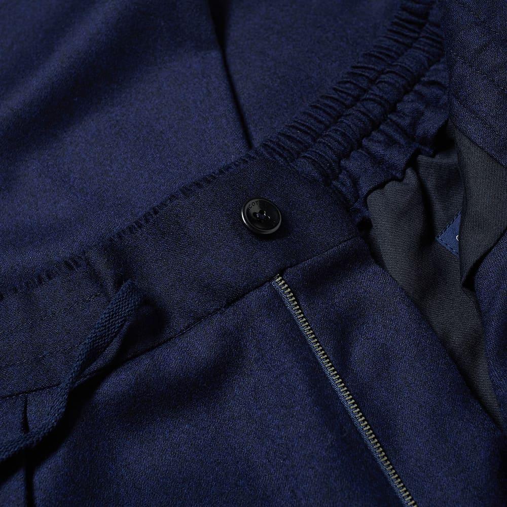 Incotex Wool Cargo Pant - Navy