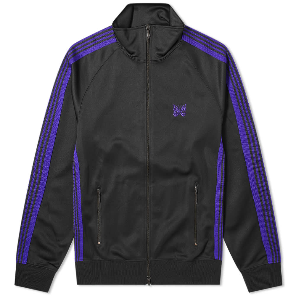 Needles  Poly Smooth Track Jacket - Charcoal