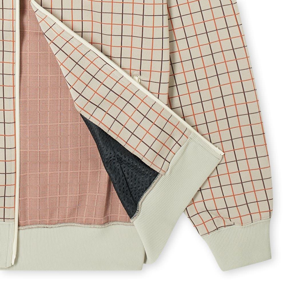 Needles Plaid Track Jacket - Beige