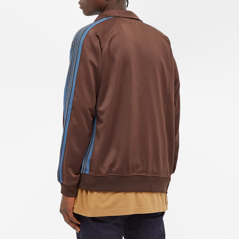 Needles  Poly Smooth Track Jacket - Brown