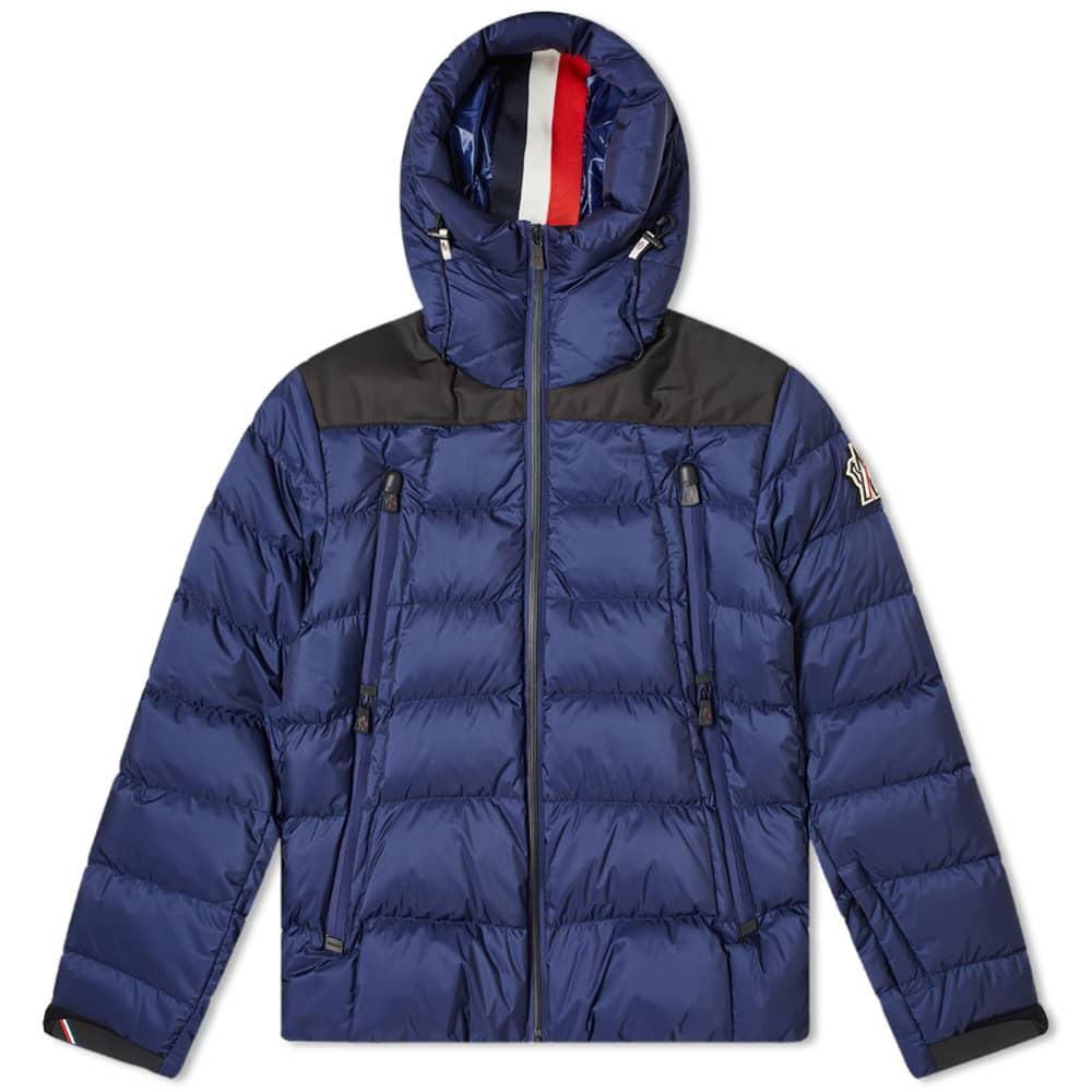 Moncler Grenoble Camurac Hooded Down Jacket - Blue