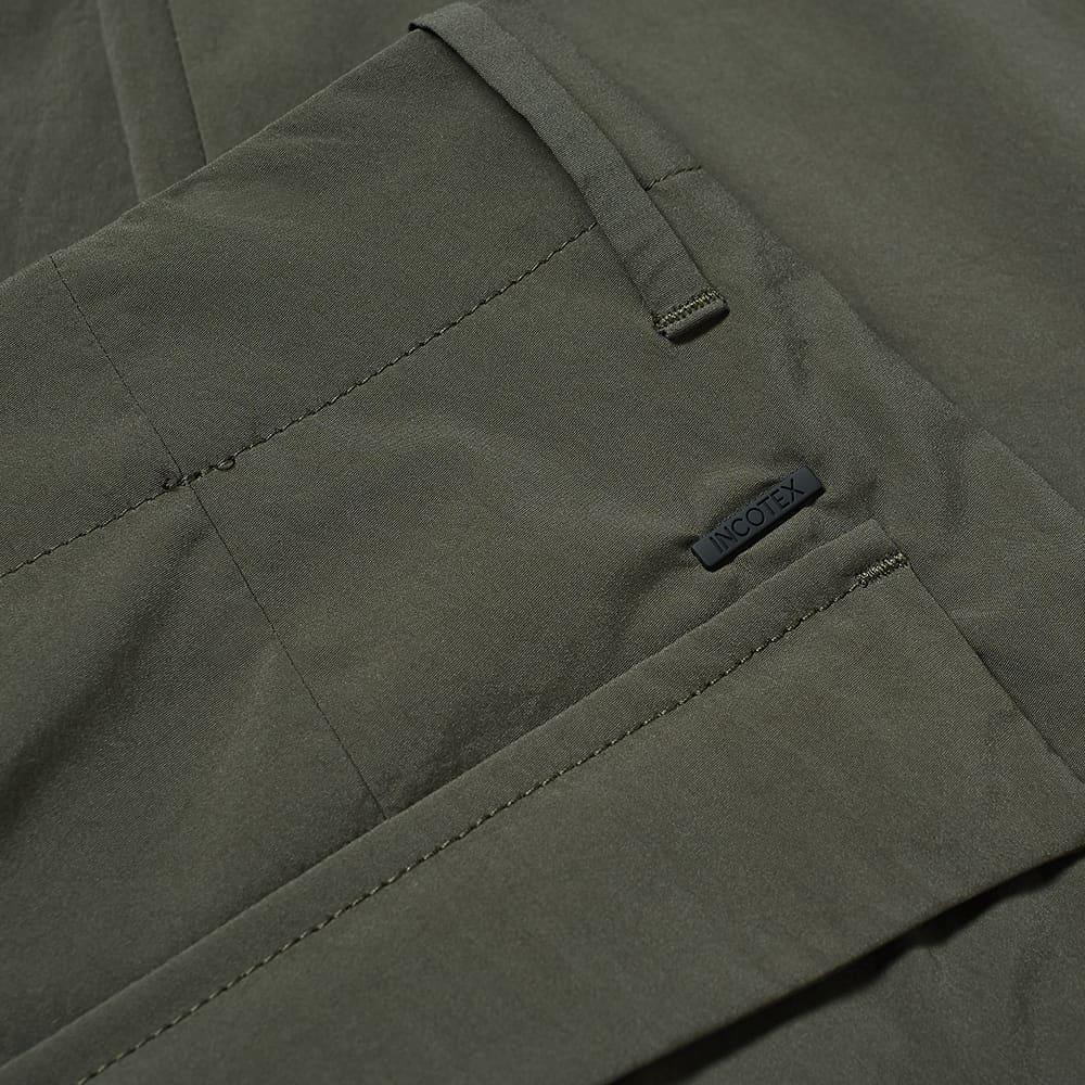Incotex Tech Cargo Pant - Army Green