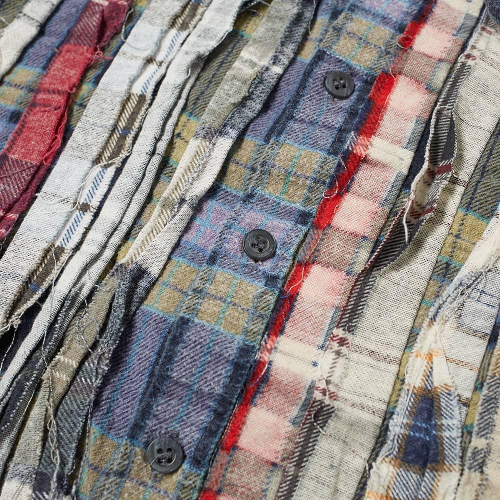 Needles Ribbon Cuts Flannel Shirt - Assorted