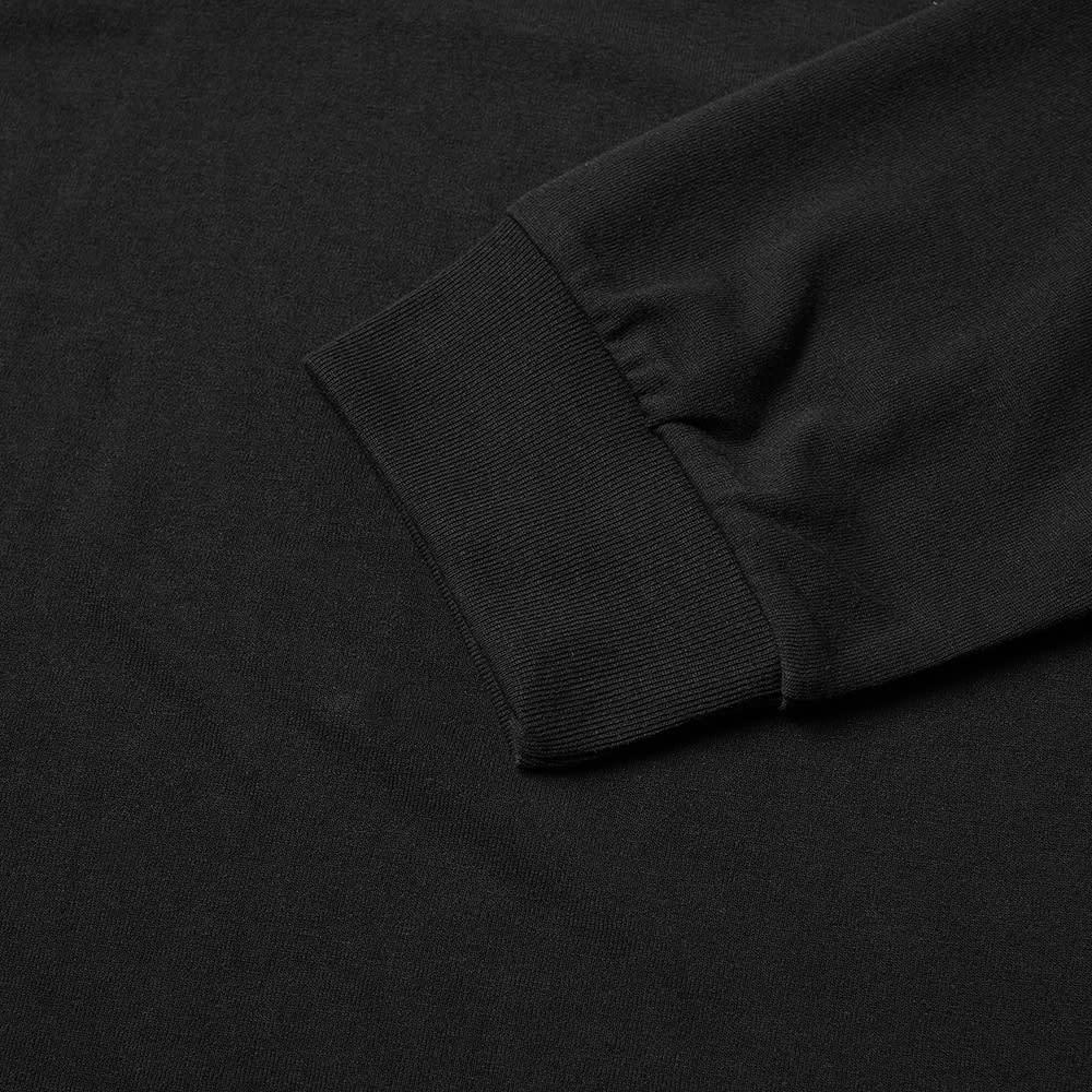 Needles Long Sleeve Mock Neck Tee - Black