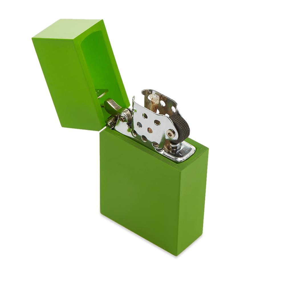 Tsubota Pearl Hard Edge Petrol Lighter - Light Green