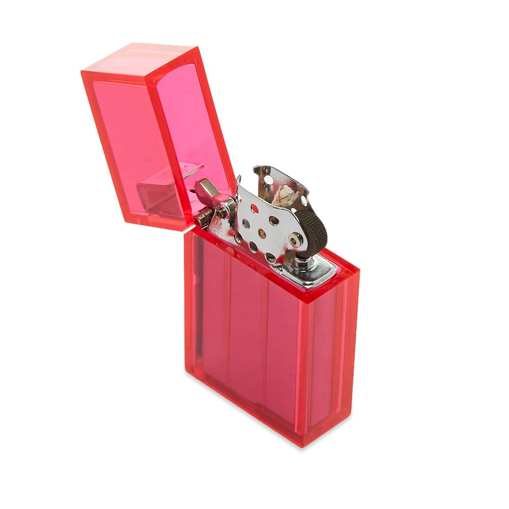 Tsubota Pearl Hard Edge Petrol Lighter - Clear Pink