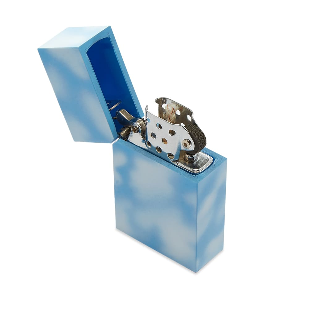 Tsubota Pearl Hard Edge Petrol Lighter - Marble Sky
