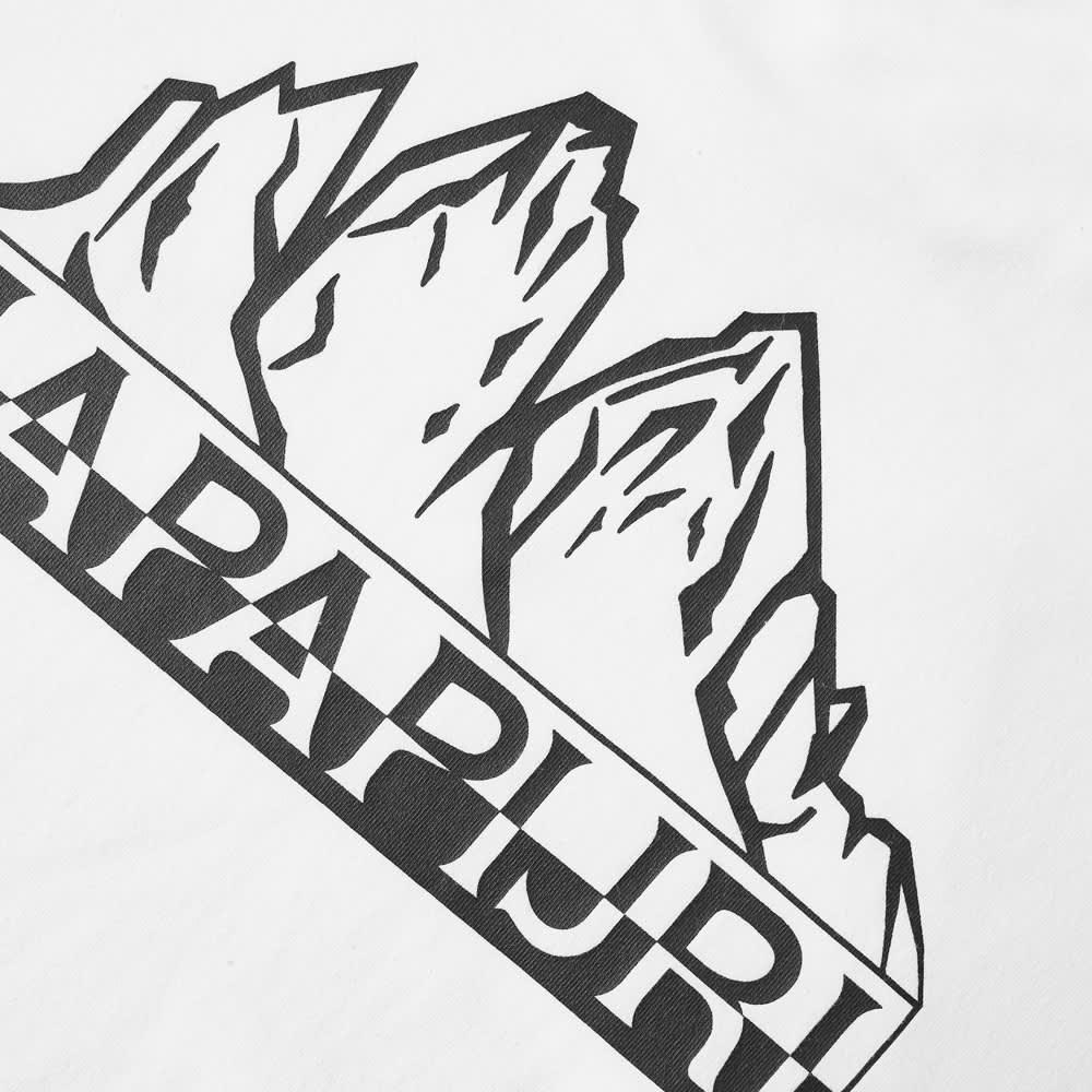 Napapijri Small Logo Tee - White