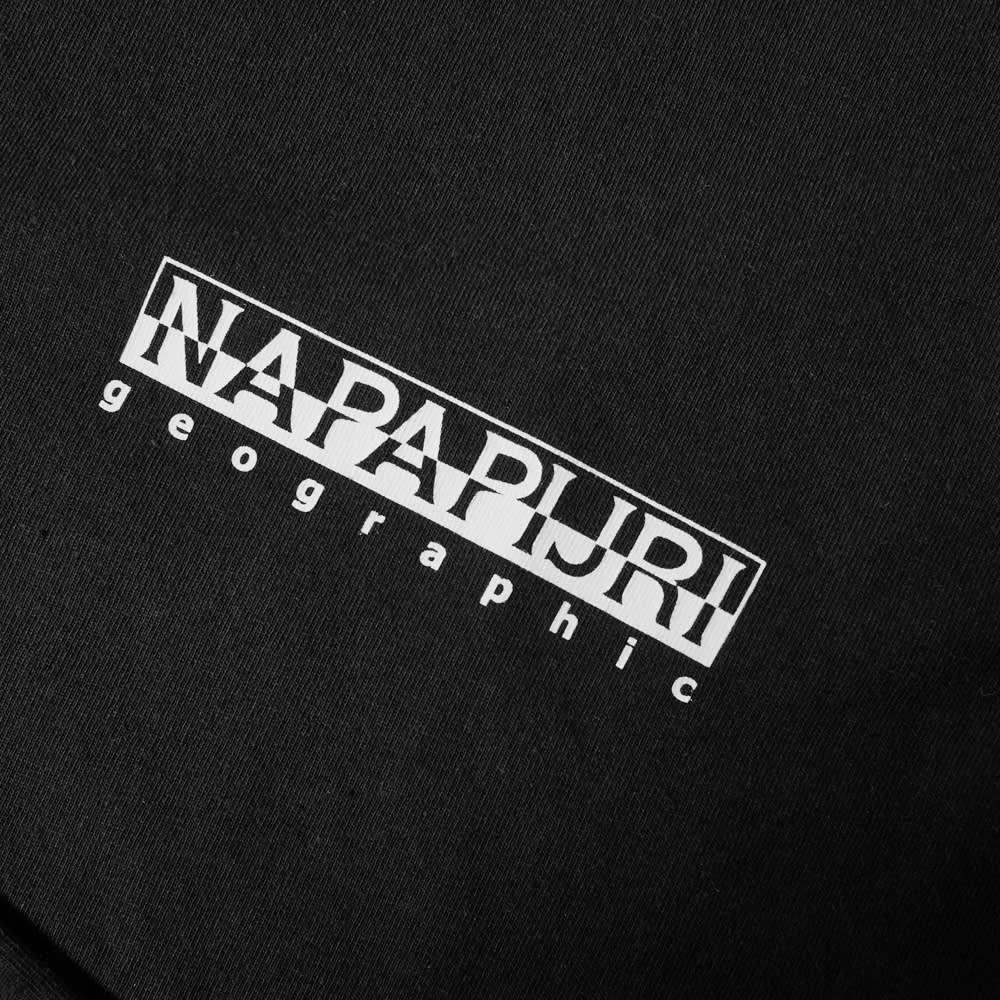 Napapijri Small Logo Tee - Black