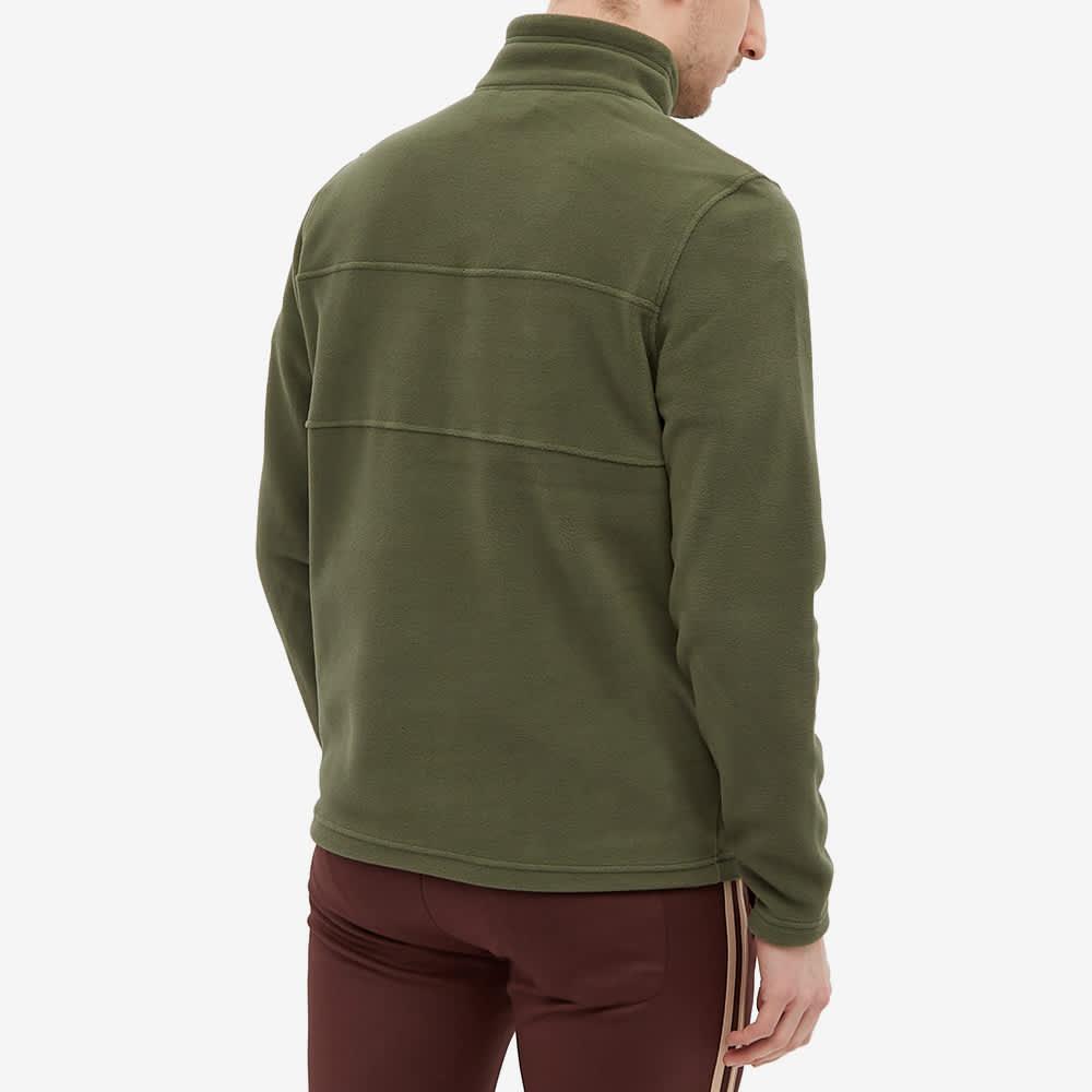 Napapijri Ted Half Zip Fleece - Green Depths