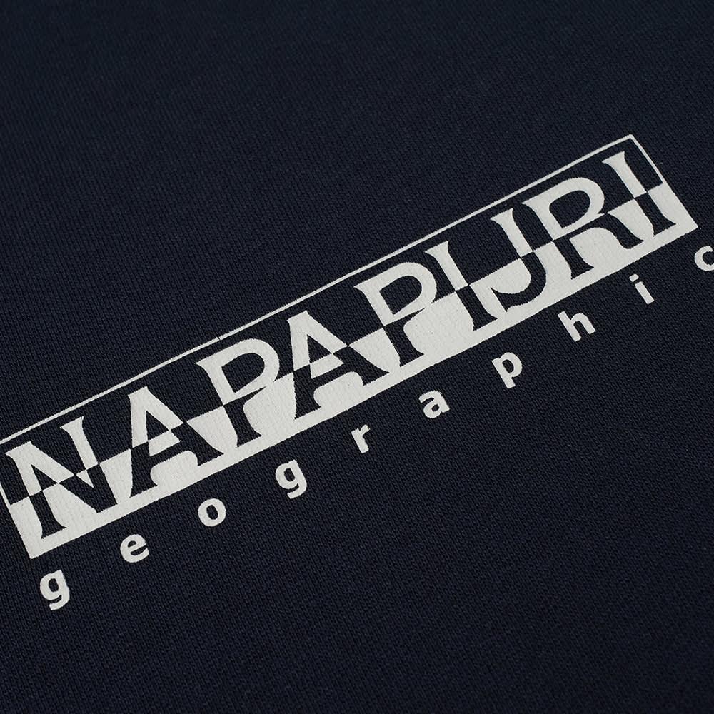 Napapijri Box Logo Crew Sweat - Blue Marine