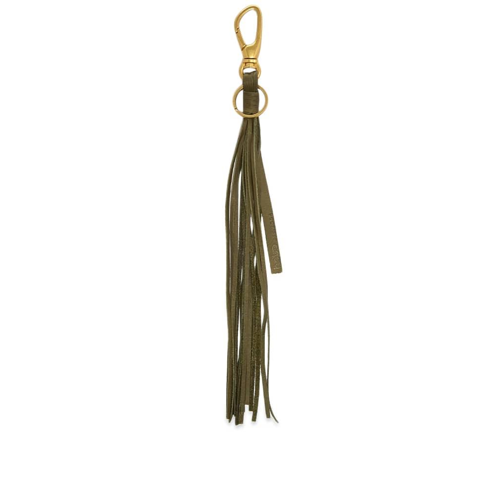 hobo Tassel Key Ring - Olive
