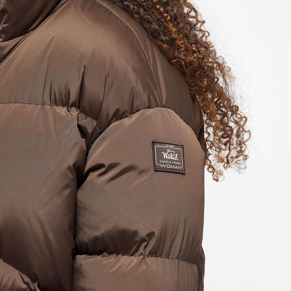 Daniëlle Cathari x Woolrich Puffer Jacket - Chocolate Brown