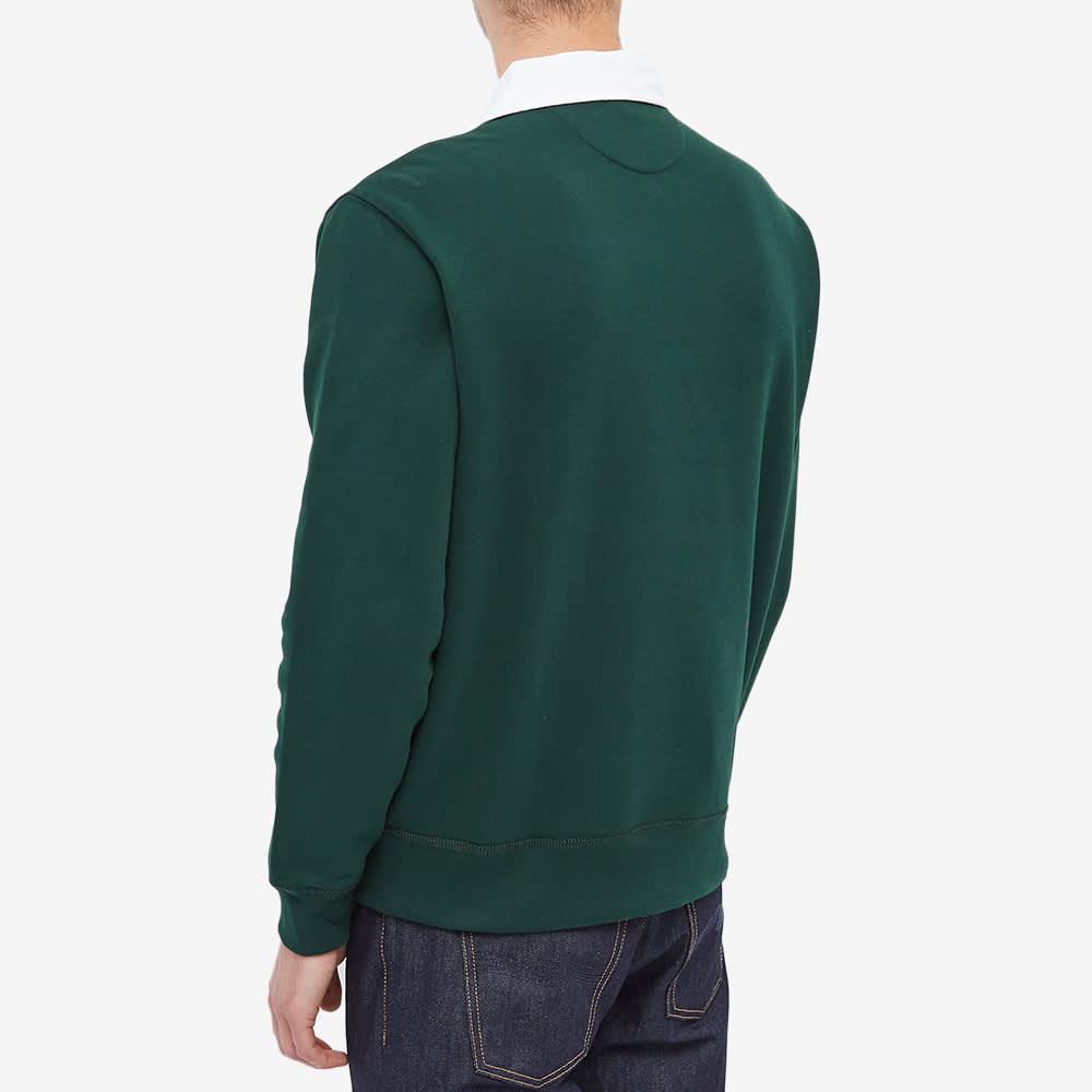 Polo Ralph Lauren Fleece Pocket Rugby Shirt - College Green