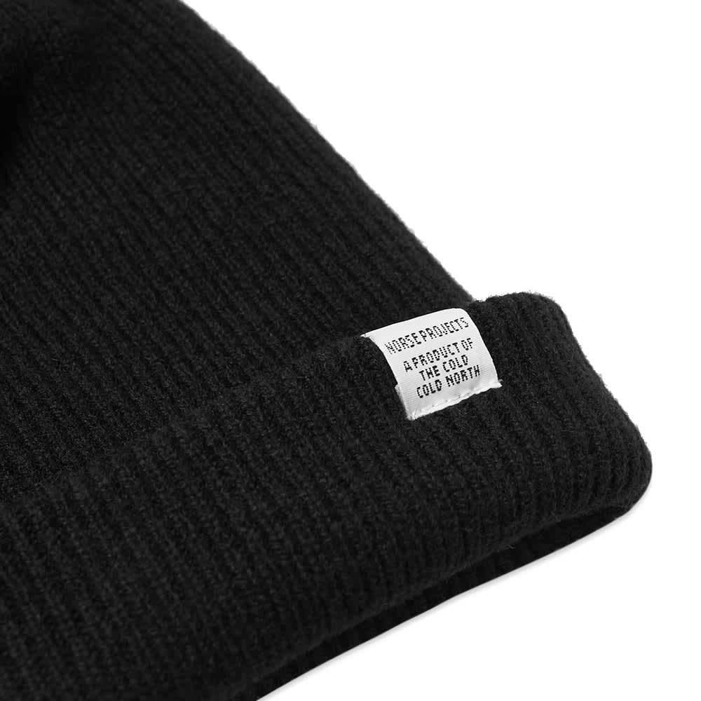 Norse Projects Beanie - Black