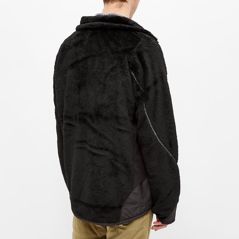 and wander High Loft Fleece Jacket - Black