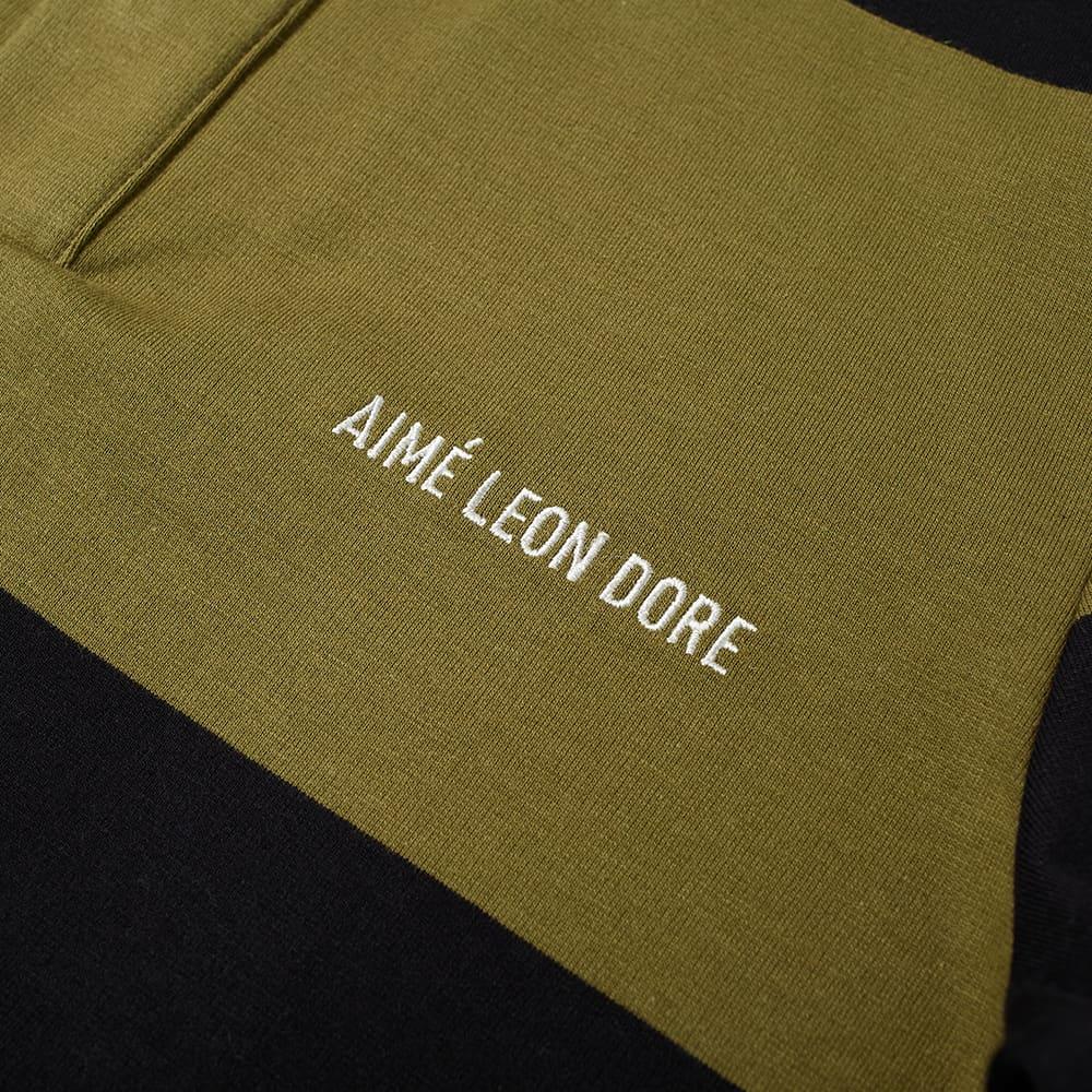 Aimé Leon Dore Classic Rugby Shirt - Twill Combo