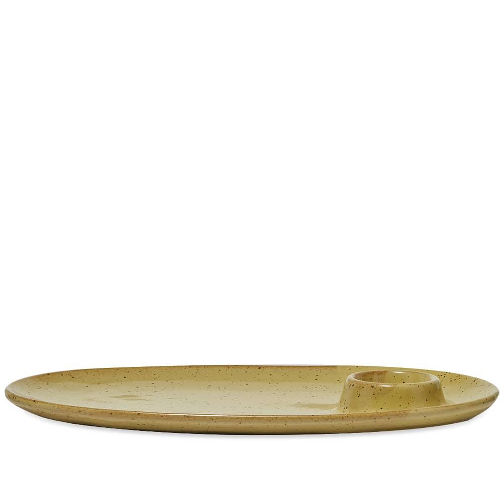 Ferm Living Breakfast Plate - Yellow Speckle