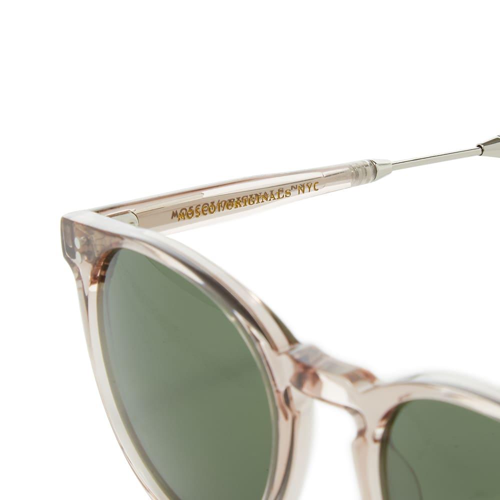 Moscot Golda Sunglasses - Burnt Rose & Silver