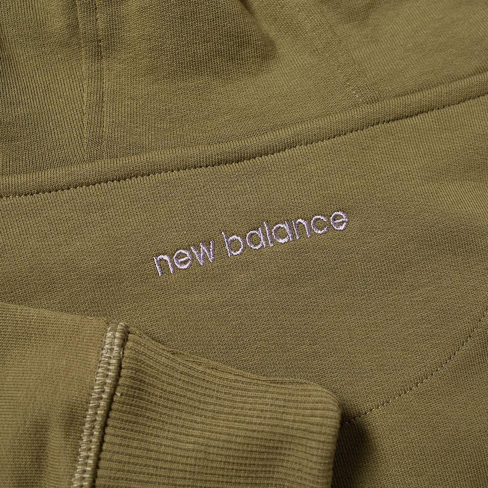 END. x New Balance Rainbow Eucalyptus Hoody - Burnt Olive