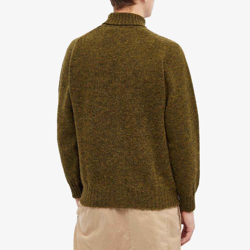 Jamieson's of Shetland Roll Neck Knit - Spagnum