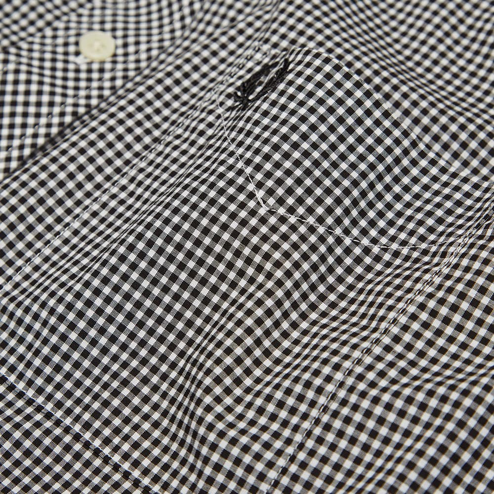 Fred Perry Gingham Shirt - Black & White