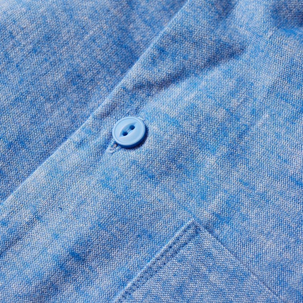 Wood Wood Short Sleeve Brandon Shirt - Light Blue
