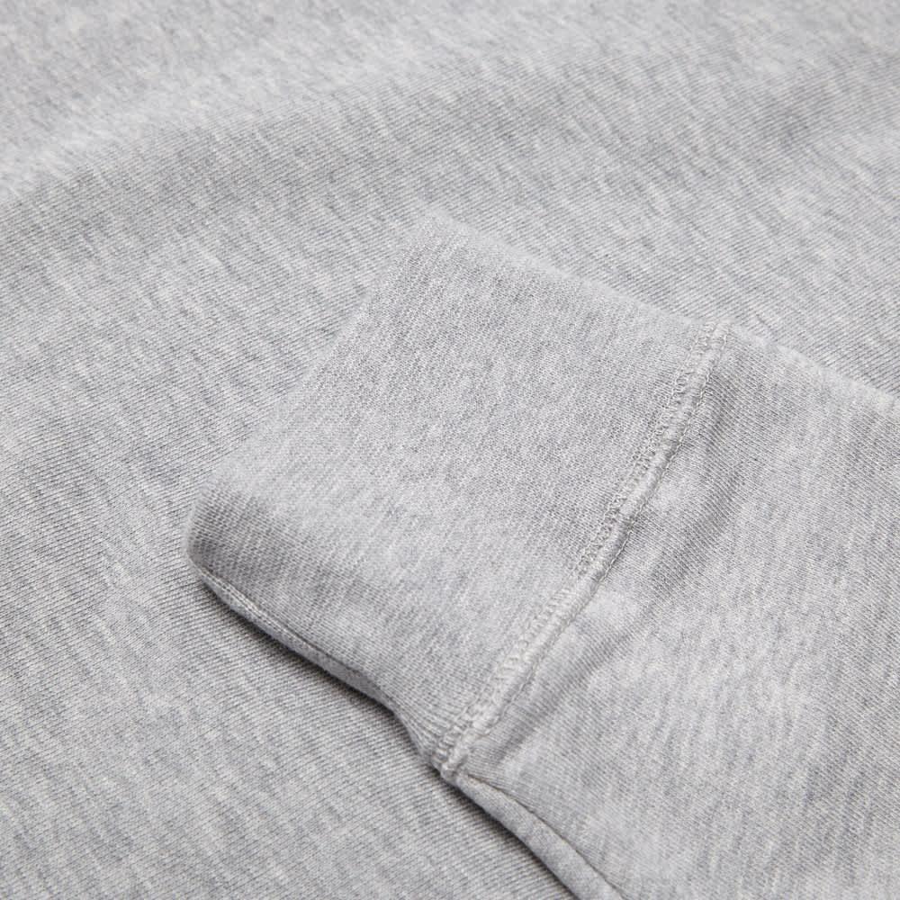 Sunspel Sweat Top - Grey Melange