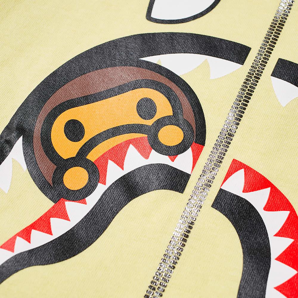 A Bathing Ape Kids Milo Shark Tee - Yellow