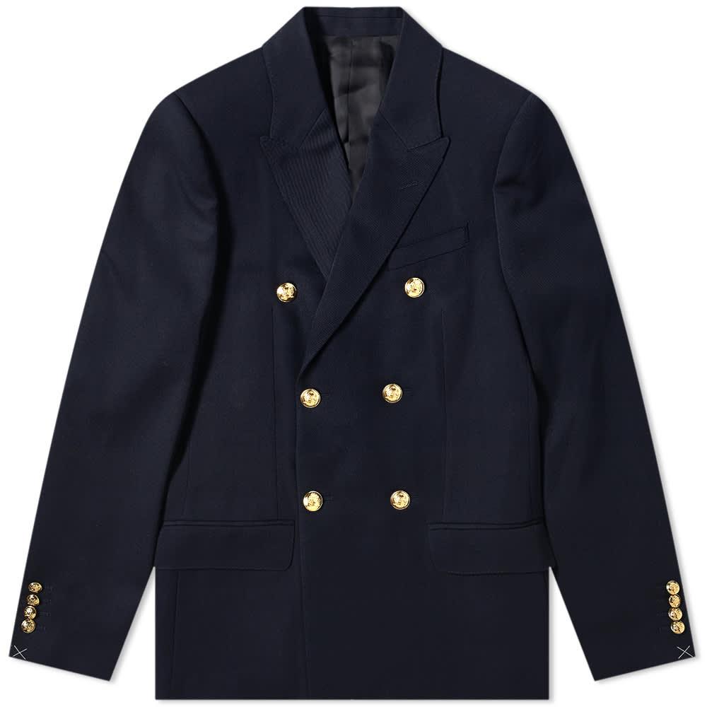Celine Double Breasted Blazer - Navy