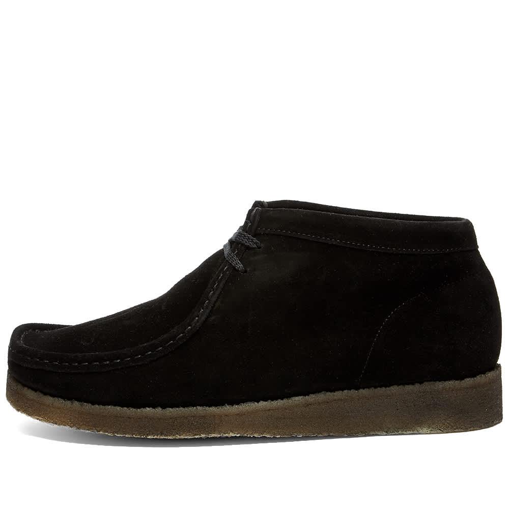 Padmore & Barnes P404 Original Boot - Black Suede